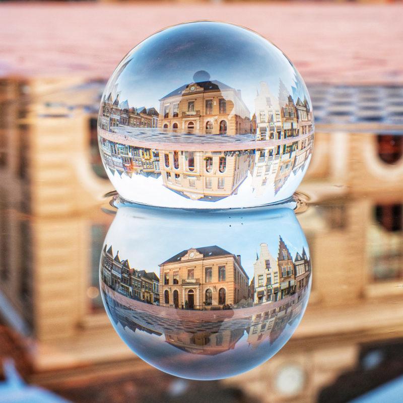 Fotograferen door een glazen bol: Caruba Lensball